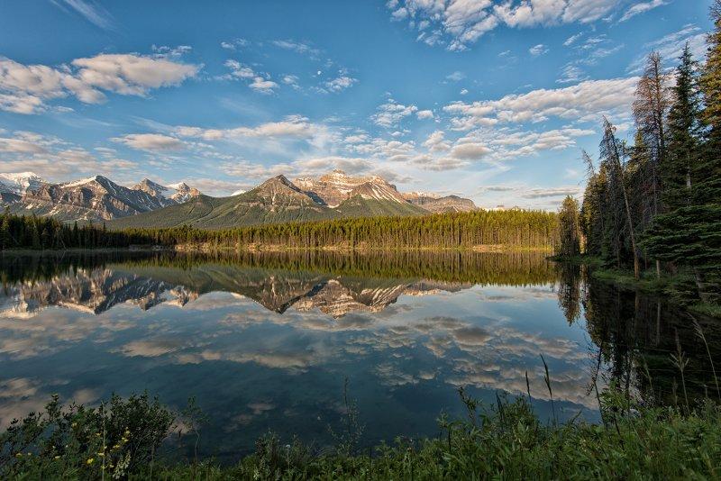 Morning In Banff National Park (2)