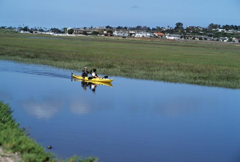 Kayaking Newport Back Bay