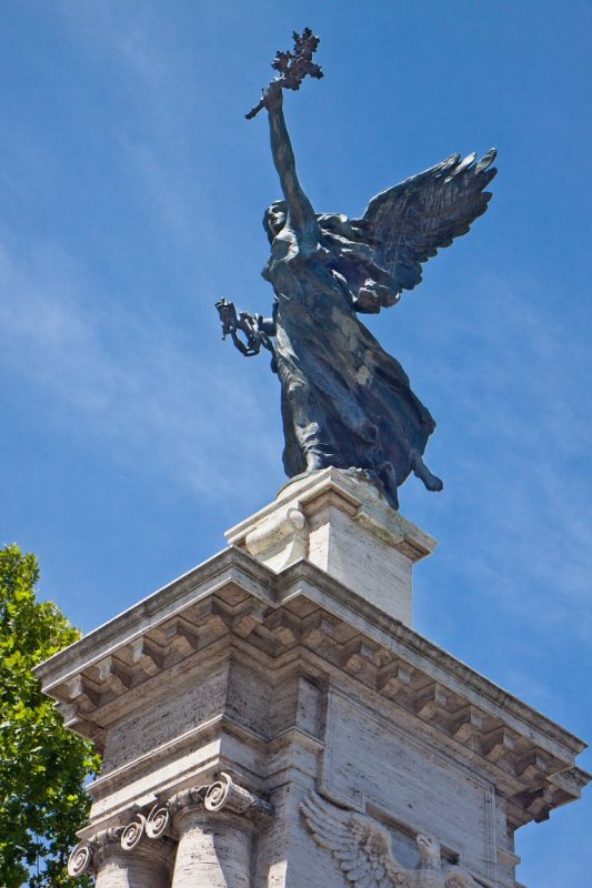 Bronze Winged Victory