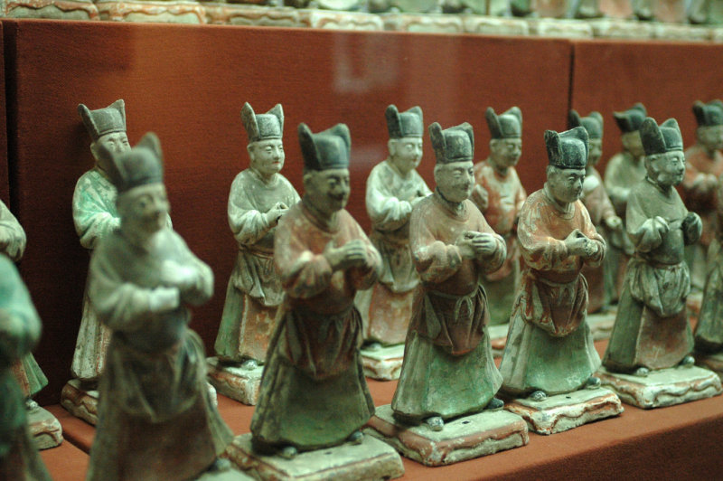 Tomb Art Pieces, Ming Dynasty, Shaanxi State History Museum