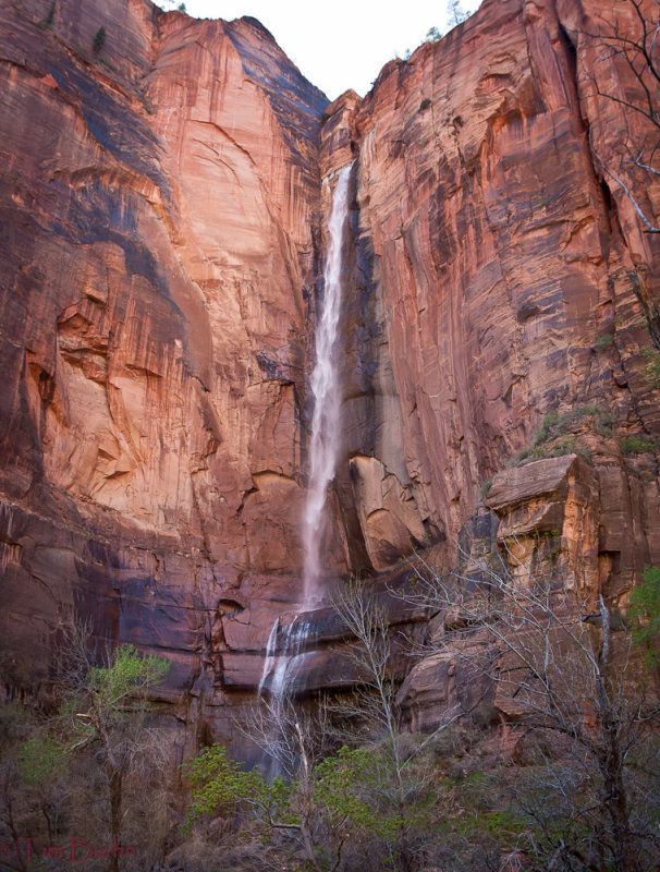 Falls of Sinawava Zion NP