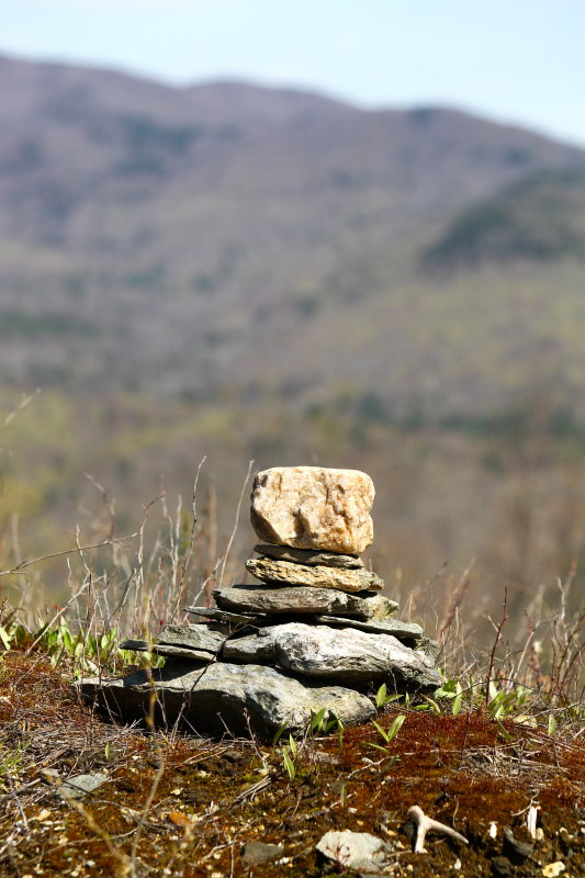 Cairn at the Top of the Mountain