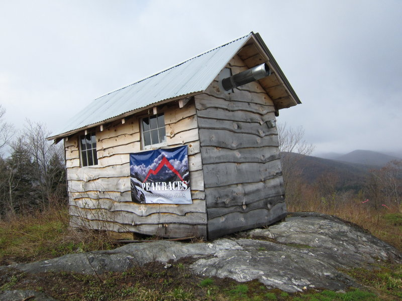 Shed at the Top of the Mountain