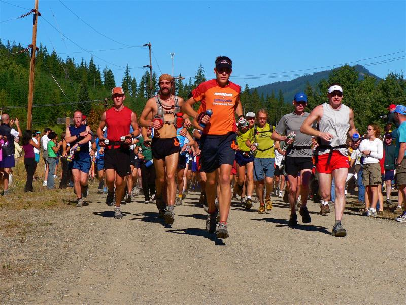 AUGUST<br> The start of the Cascade Crest Classic 100M</br>