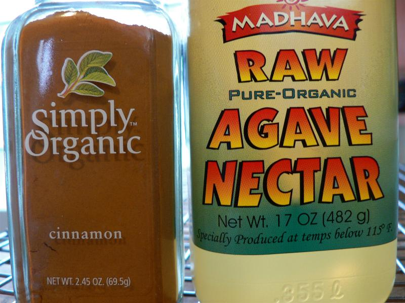 Ground Cinnamon & Agave Nectar