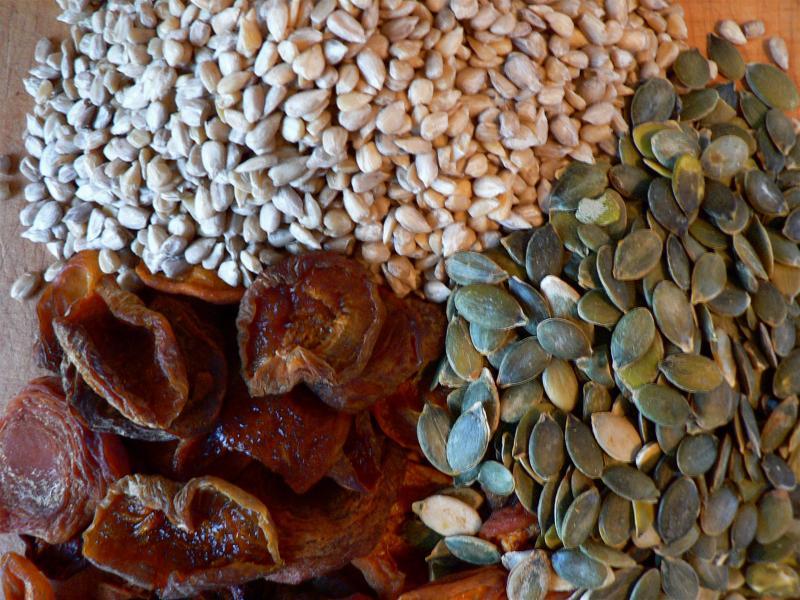 Apricots, Sunflower Seeds & Pumpkin Seeds