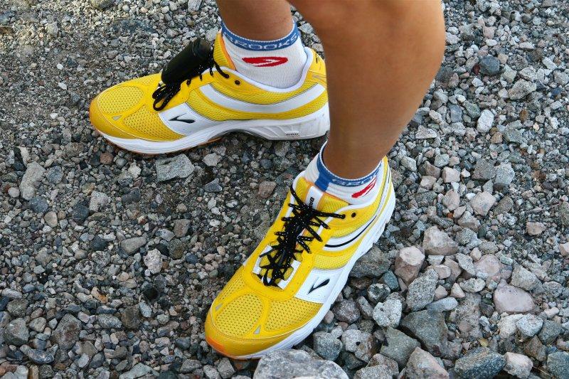 Brooks Shoes Pre-Race