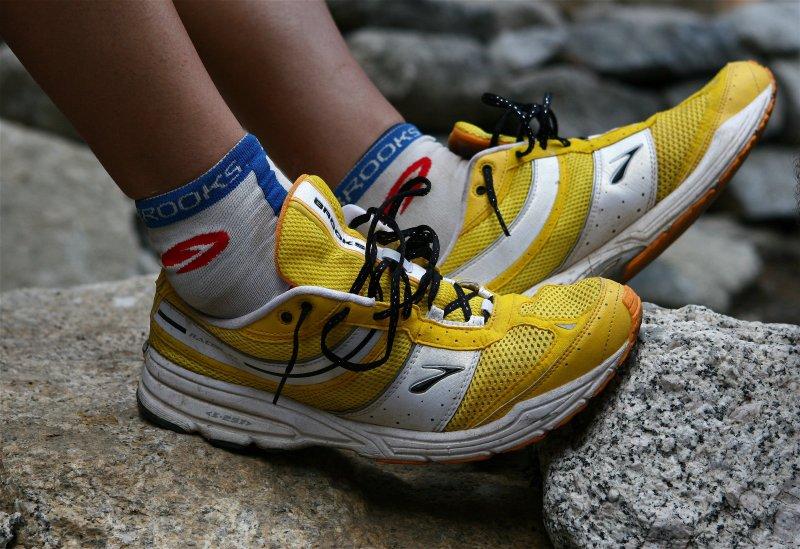 Post-Race Shoes