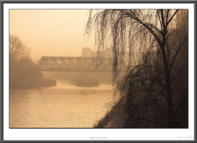Foggy morning Deule