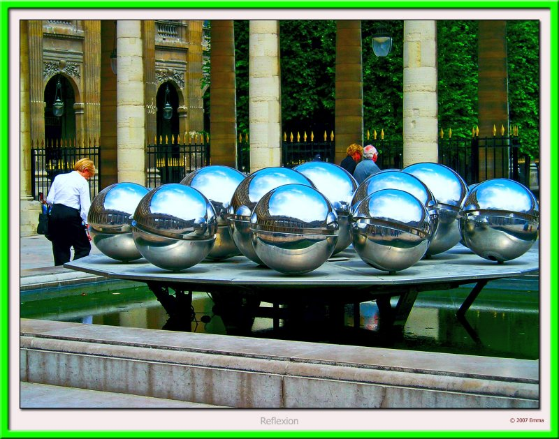 Fontaines à Boules de Pol Bury