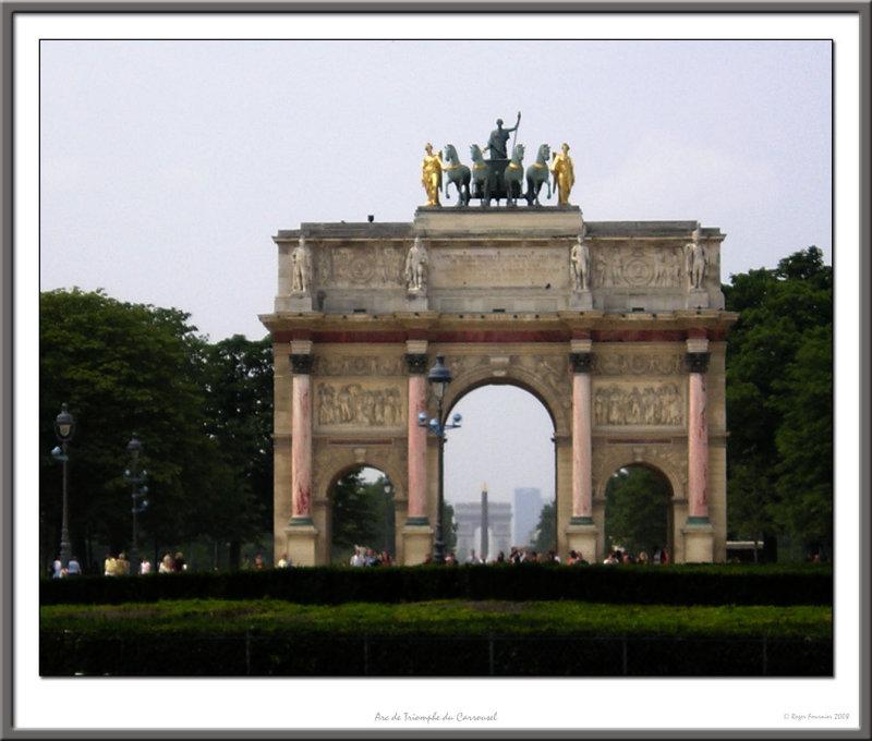 Arc de Triomphe du Carrousel du Louvres