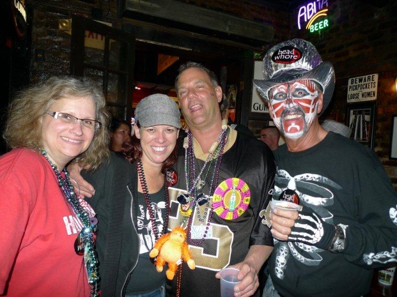 Shar, Debbie, Jon, & Bill @ Boondock Friday Night