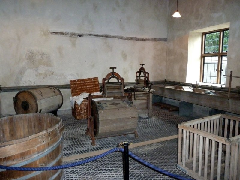 Chirk Castle Victorian Laundry Room
