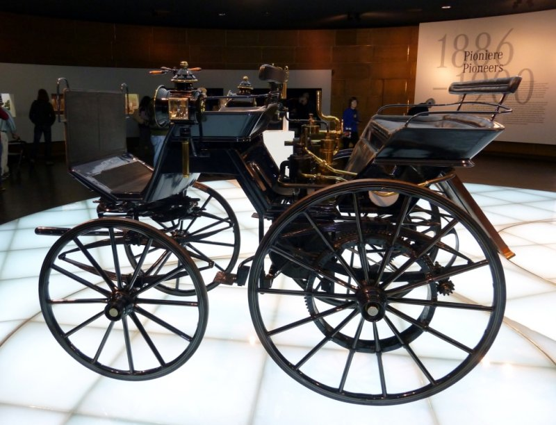 1886 Daimler Motor Carriage