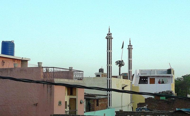 Minarets in Agra, India