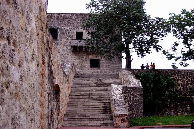Escalinatas Alcázar de Colón, Ciudad Colonial, Dominican Republic