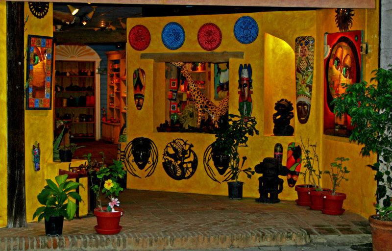 Gift Shop, Ciudad Colonial, Dominican Republic