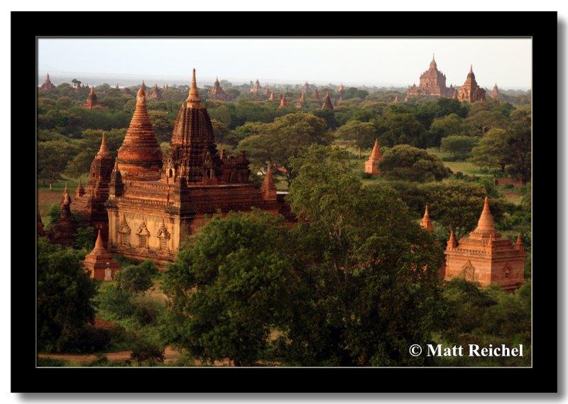 Picture Perfect Ruins at Bagan, Myanmar
