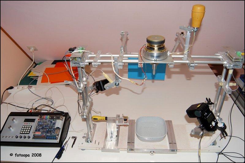 Overview highspeed setup.
