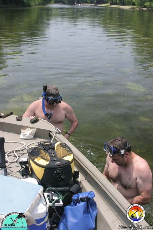 Greenhalgh and Evans on the Santa Fe River.jpg