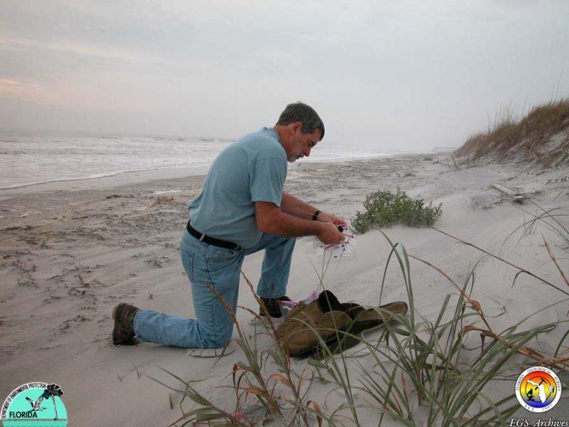 Jim Ladner beach sampling.JPG