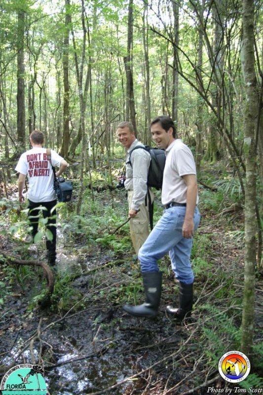 Hunting for the Wakulla Volcano.JPG
