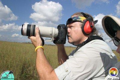 Tom Scott at work in Everglades.JPG