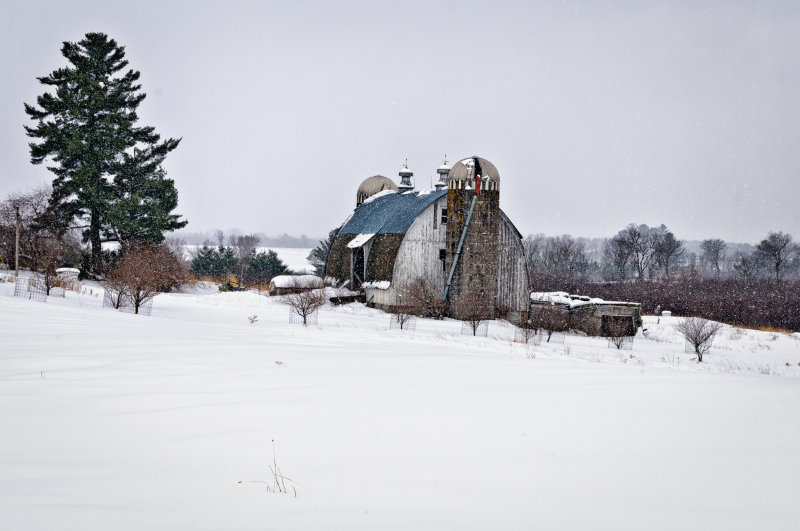 Barn in northern WI