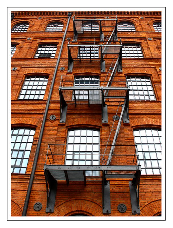 Stairs - Andels Hotel - Poznanskis Factory Complex