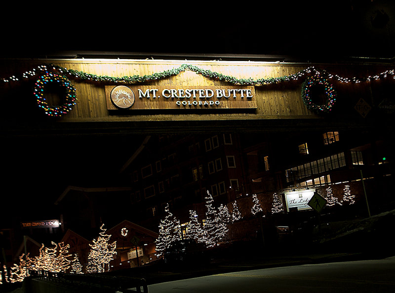 Mt. Crested Butte - Christmas 2011
