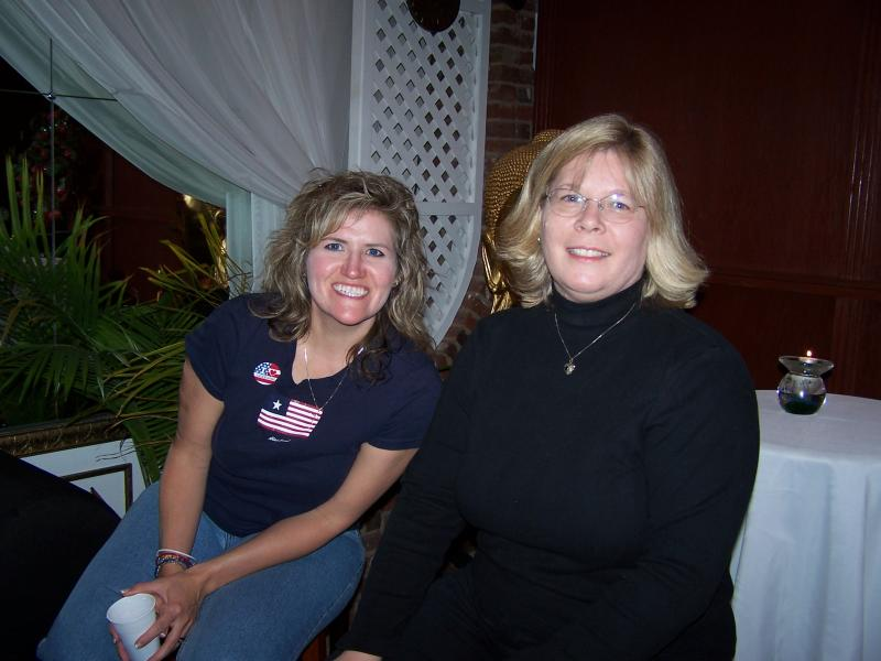 Kristal and Cathy
