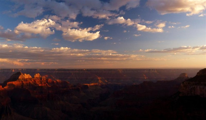 585 Grand Canyon Bright Angel Point Sunset 10.jpg