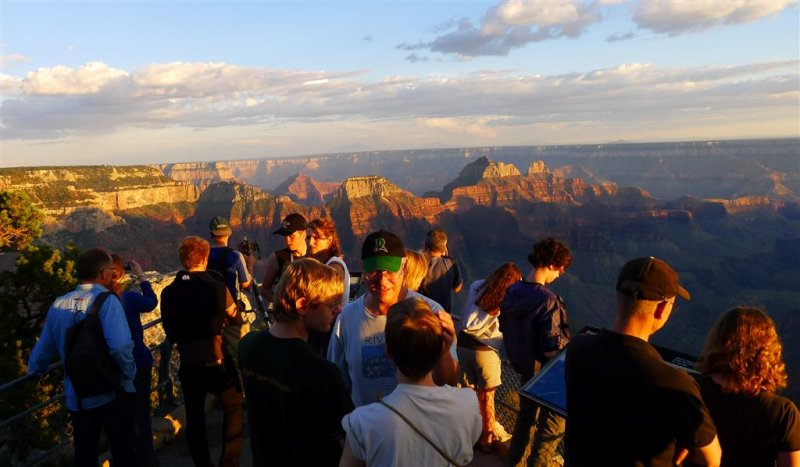 588 Grand Canyon Bright Angel Point Sunset 13.jpg