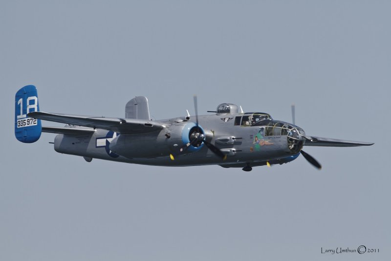 Maid in the Shade B-25J