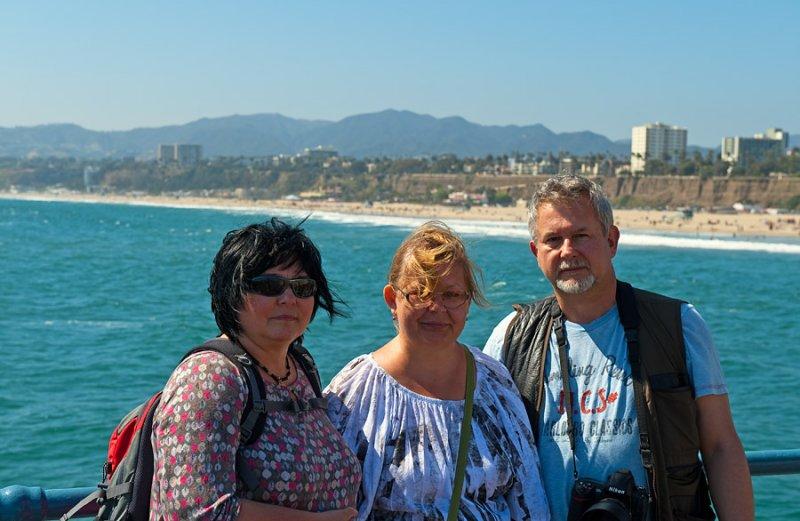 On Santa Monica Pier
