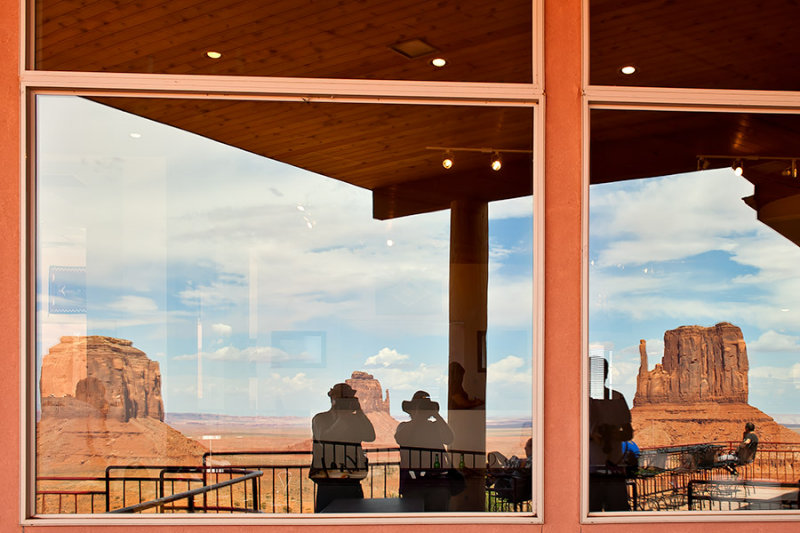 Reflections From Monument Valley