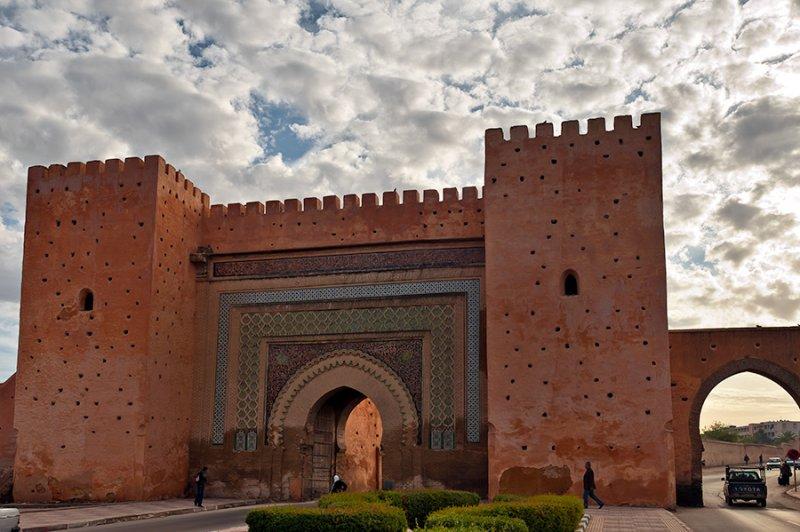 Gate To Medina In Meknes