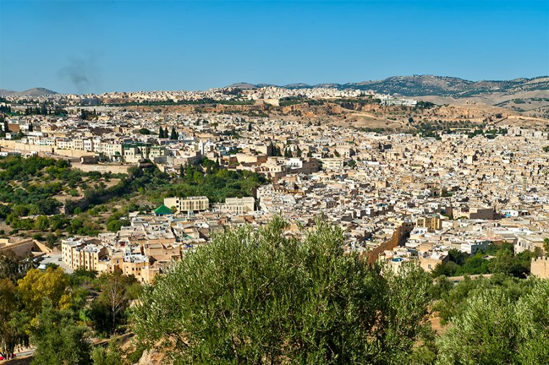 Panorama Of Fez