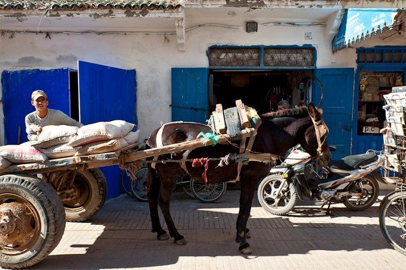 Street Life In Essaouira
