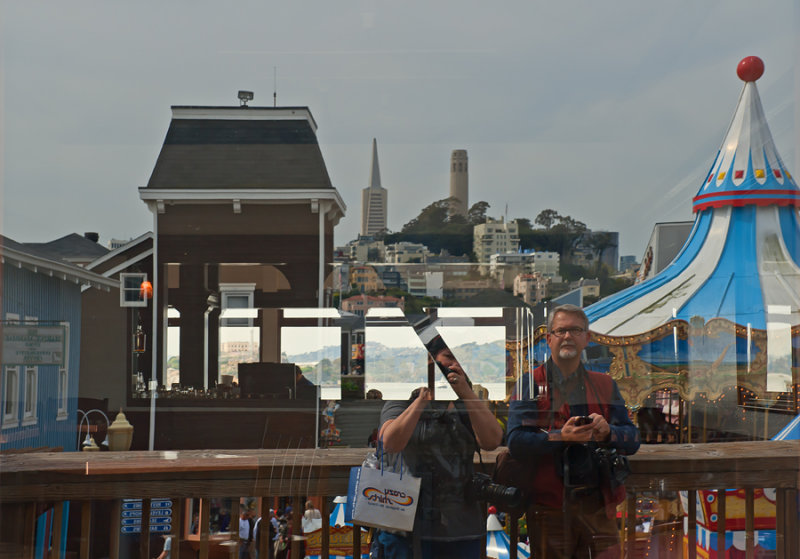 Pier 39 Reflection