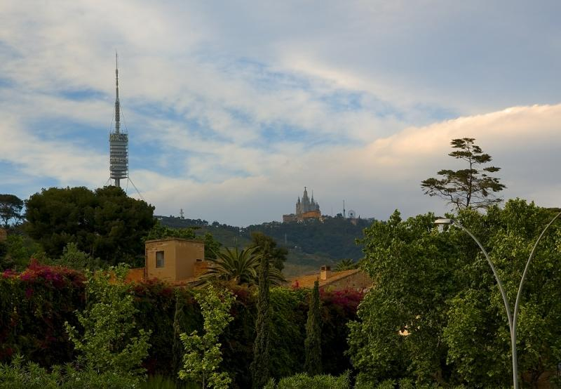 Pedralbes Monastery and Mount Tibidabo