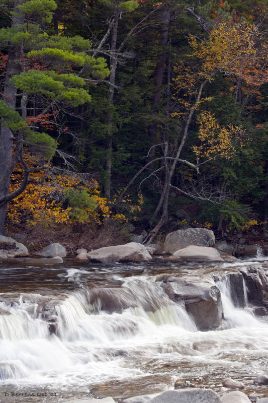 Lower Falls, Kancamagus Highway, NH