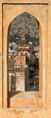 View of Jaipur, from Amber Fort