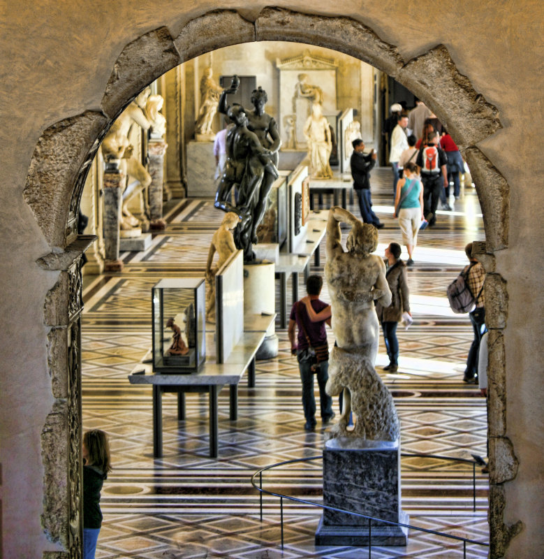 Interior The Louvre I