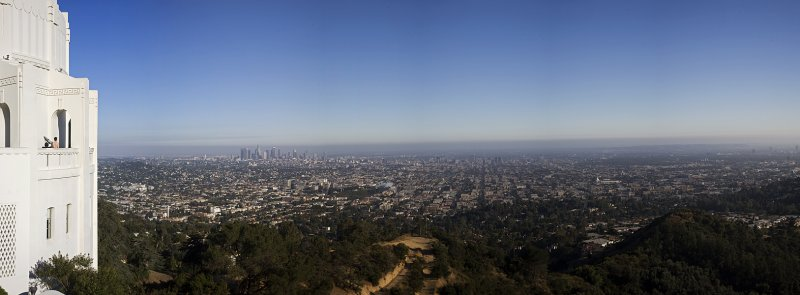 Pano from the observatory