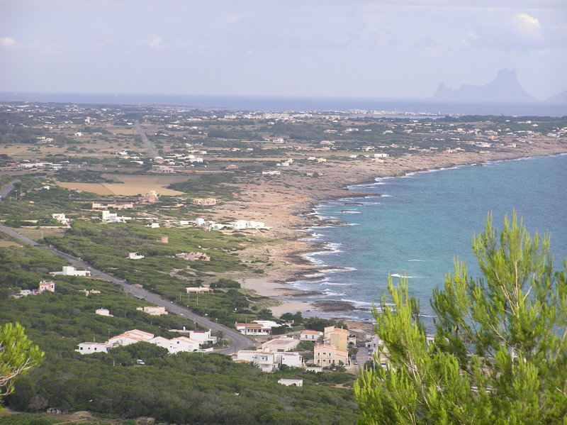 North Side to La Savina