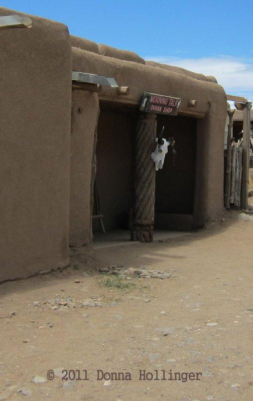 Doorway with Cow Skull