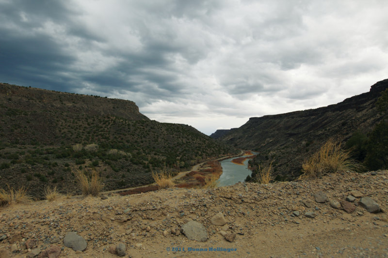 Gorge at the Rio Grande