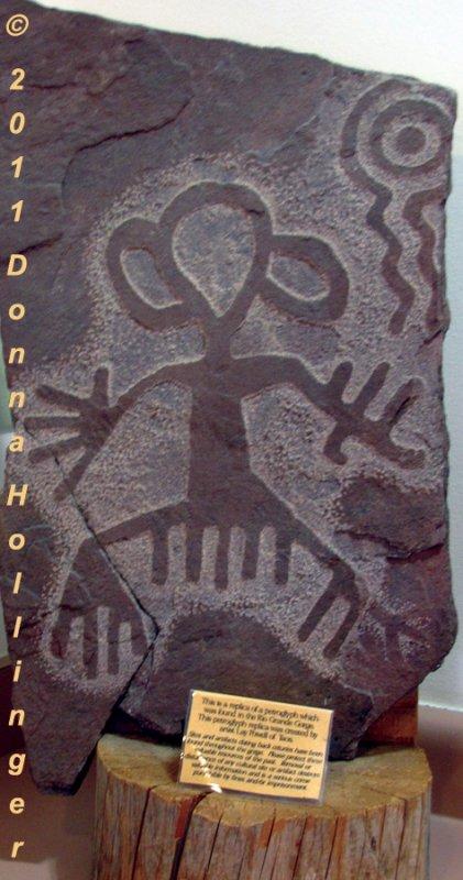 Rock Petroglyph Replica