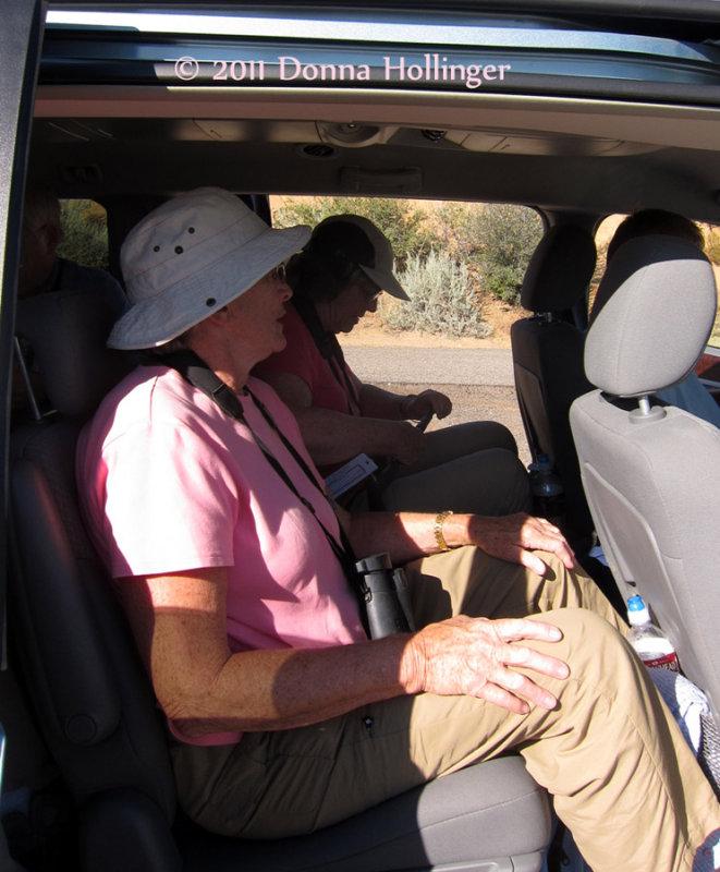 Riding in Steves Van